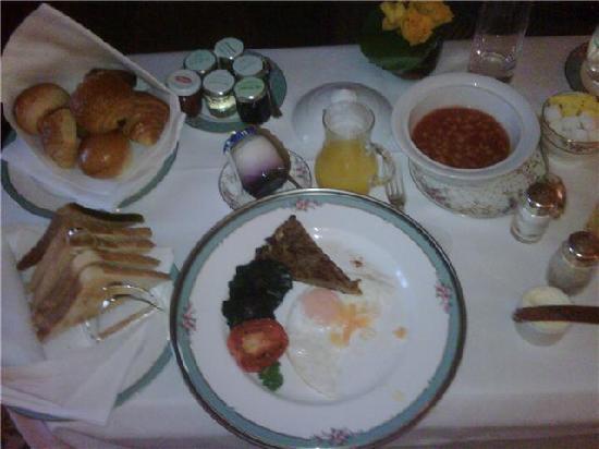 The Dorchester: breakfast superb