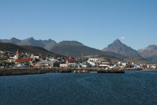 Ushuaia Bay: Ushuaia, Tierra del Fuego.