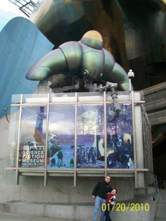 Science Fiction Museum And Hall Of Fame: Science Fiction Museum   Seattle,  WA