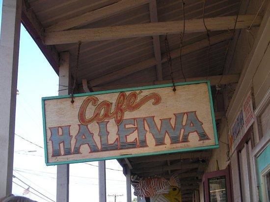 Cafe Haleiwa Photo