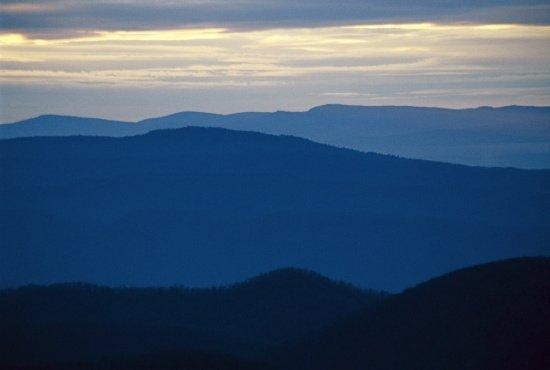 Galax, Вирджиния: Blue Ridge mountains