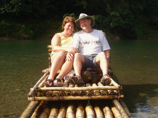 Port Antonio, Jamaica: We had a romantic and relaxing 3-1/2 hour ride down the Rio Grande.