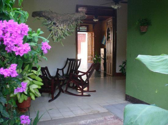 Hotel Casa La Luna: Corridor