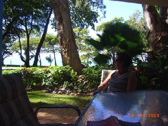 BeachView Apartments at Villa Paradiso: View from terrace