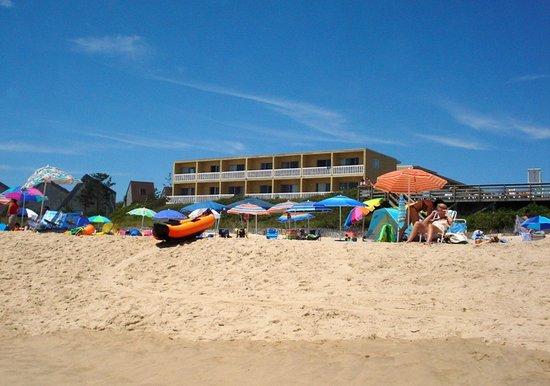 Atlantic Terrace Motel: D  Atlantic Terrace  - View from Beach 1