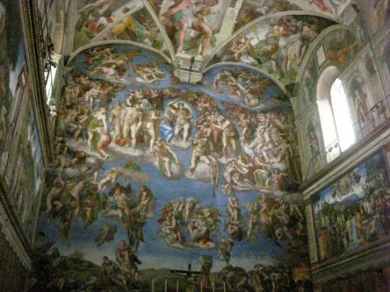 a comparison of the sistine ceiling and the maesta paintings The sistine chapel there is no doubt that sistine the various painted elements of the sistine ceiling renown for these decorations and paintings.