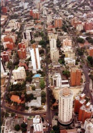 Vista aerea de BARRANQUILLA, Puerta de Oro de Colombia.