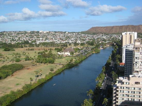 Fairway Villa: 屋上から見た景色