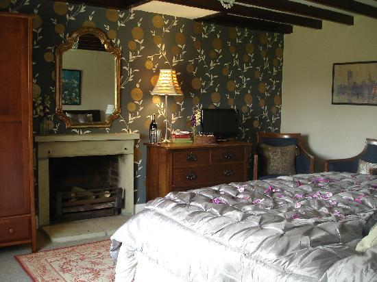 Spaunton Manor B&B: Super-kingsize Room