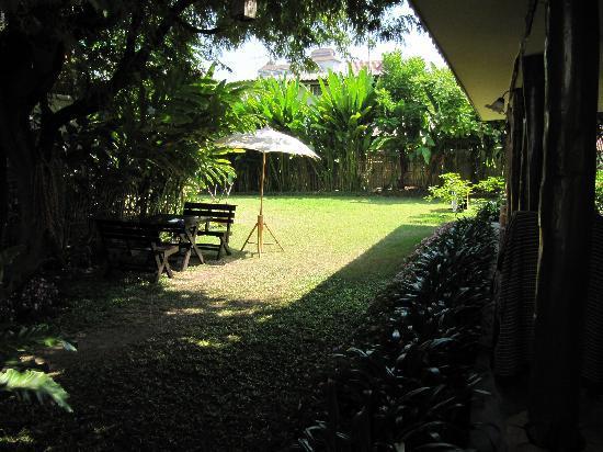 Anong House: Garden area
