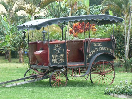 Hotel Posada de Don Rodrigo Panajachel: Dans les jardins