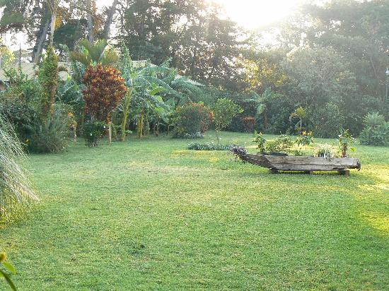 Hotel Posada de Don Rodrigo Panajachel: Vue du jardin