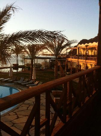 Dahab Paradise: View from the Balcony - overlooking the Paradise Restaurant
