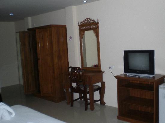 Aonang Goodwill: mit Kühlschrank, TV, leise Klimaanlage