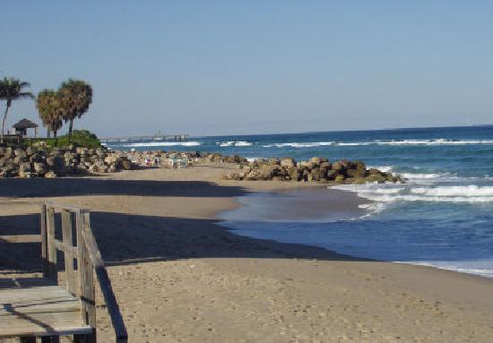 Sunrise Ocean Suites: Beach