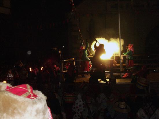 Bad Saulgau, Germany: Hexen (Riedhutzel) setzenan der Fasnet