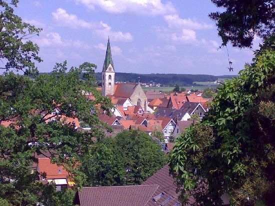 Bad Saulgau, Niemcy: Stadt von der Schillerhöhe