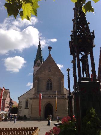 Bad Saulgau, Niemcy: Der Marktplatz