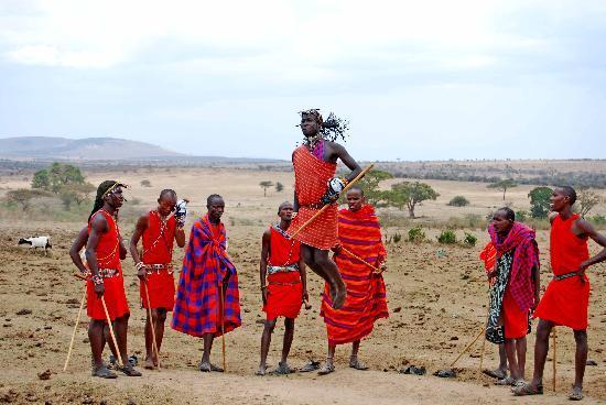 Keekorok Lodge-Sun Africa Hotels: El vuelo de los Masai