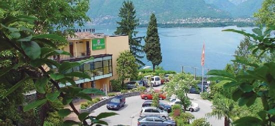Vira, Schweiz: Bellavista Hotel Main entrance