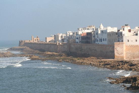 Essaouira, Morocco: Iconic view of the ramparts