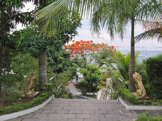Atlantico Buzios Hotel: Garden on the hotel grounds