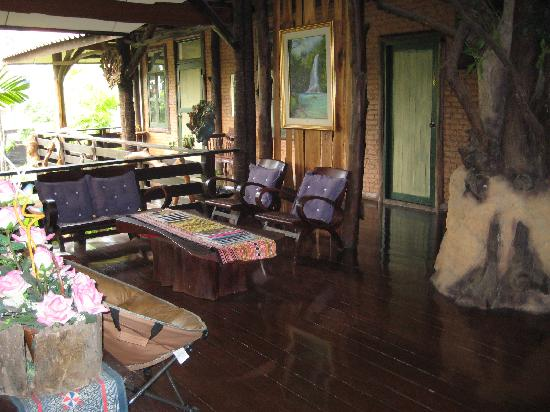 The Forest Resort & Spa: Private section for hotel guests