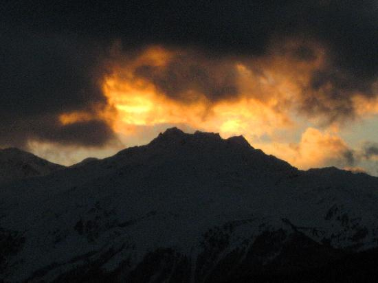 Alpen-Royal: Abendstimmung