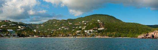 South Coast, St. Thomas: Bolongo Bay Beach Resort