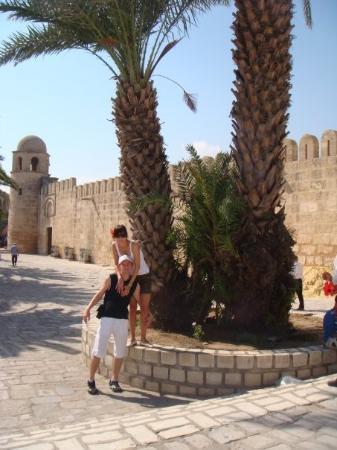 Medina of Sousse: Susas - Medina (uz sienos arabiskas turgelis)