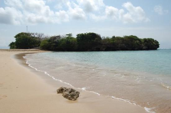 Νούσα Ντούα, Ινδονησία: På den nydliga strando rett nerføre hotellstrando
