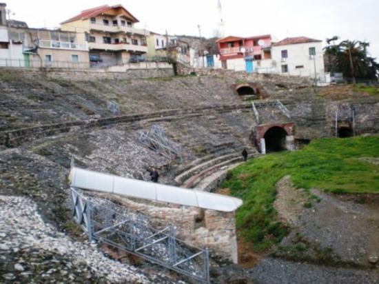 Durres, Albania: Drac, amfiteatar