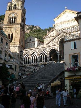 Duomo di Sant'Andrea Apostolo : The duomo in Amalfi