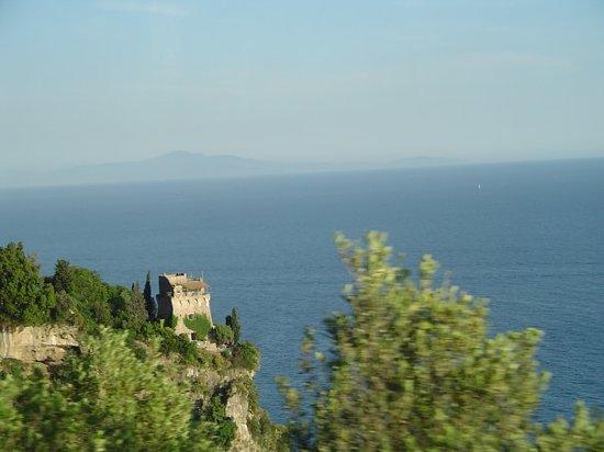 Amalfi Coast to Capri Boat Excursion : Almafi Coast
