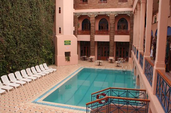 Hotel Oudaya: Vue intérieure