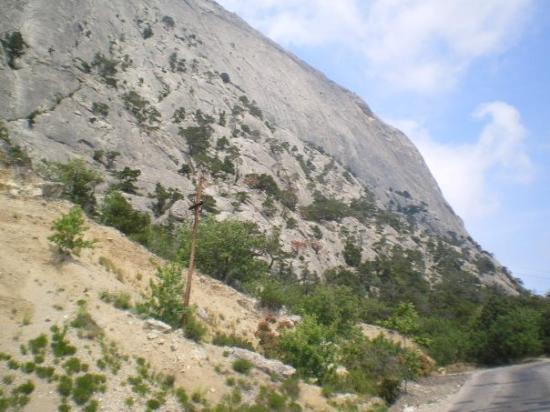 Prachtige streek tussen Sudak en Novi Sved