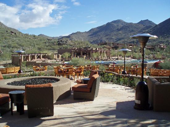 The Ritz-Carlton, Dove Mountain: View from the lobby