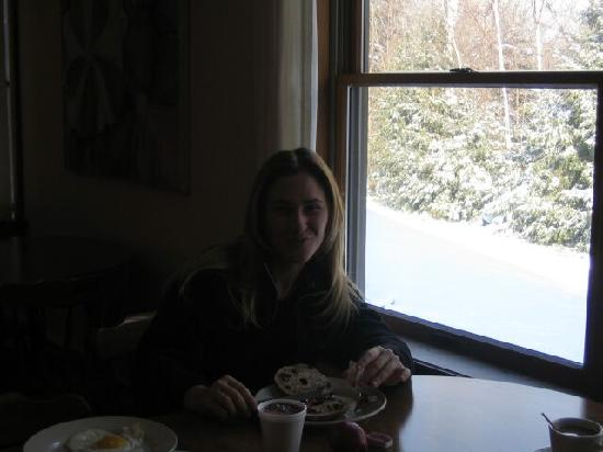 Mountain Sports Inn : breakfast