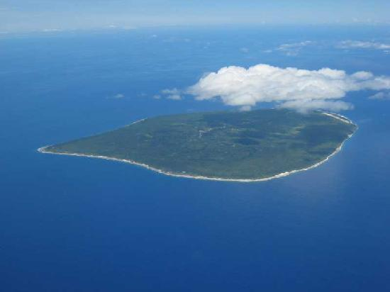 Atiu from the air
