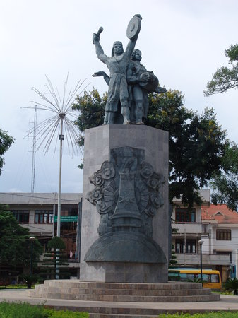 Провинция Даклак, Вьетнам: The Montagnard statue in Kontum