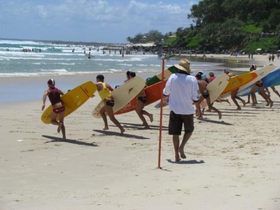 Coolangatta, Australien: Aussie Beach