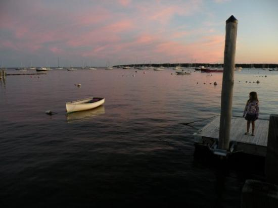 Mattapoisett Harbor Pink Sky and Charlotte