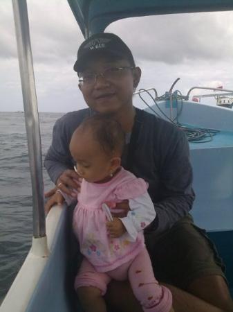Glad : Turtle Island... I'm comming  @ Tanjung Benoa menuju Pulau Penyu -BALI-