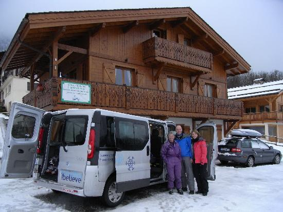 Chalet Annabelle: All smiles for another day not at the office !!