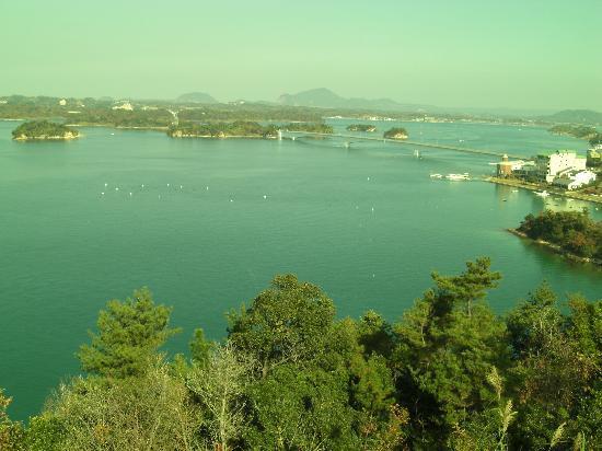 Kamiamakusa, Japan: 展望台からの眺め