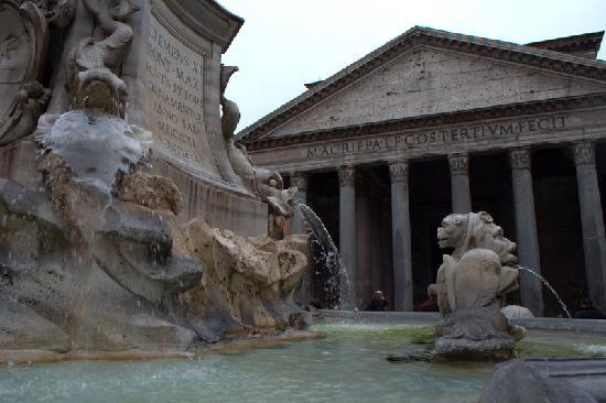 Baldassini B&B: Pantheon, just aound the corner