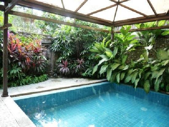 Hotel Tugu Bali : Piscine privée Suite Dedari