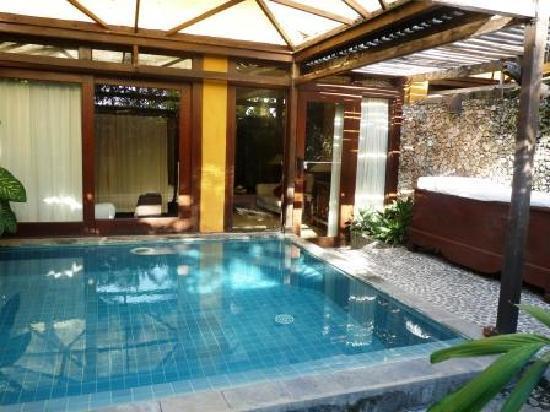 Une Autre Vue De La Piscine Privee Dedari Suite Picture Of Hotel