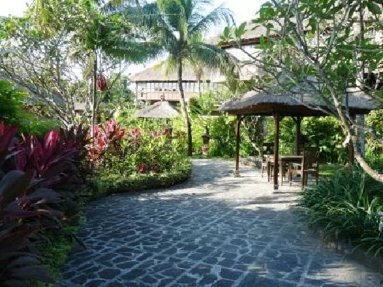 Une autre vue de la piscine privee dedari suite photo for Les jardins de bali