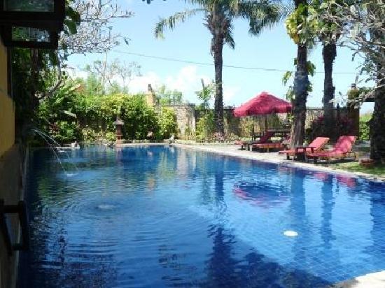 Hotel Tugu Bali : petite piscine du Tugu Bali